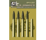Afv Club AG35040 - Bofors 40mm Ammo (Brass)