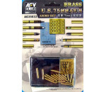 Afv Club AG3533 - 75mm gun ammo brass set
