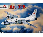 Amodel 72180 - Antonov An-32B civil aircraft