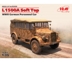 ICM 35529 - L1500A Soft Top, WWII German Personnel Car