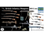 MasterBox 35109 - British infantry weapons, WWII era