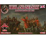 Red Box 72050 - Highland Infantry 1745,Jacobite Rebell.