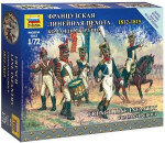Zvezda 6816 - French Infantry Command Group Napoleonic Wars